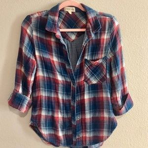 Cloth and Stone Flannel Sz Small